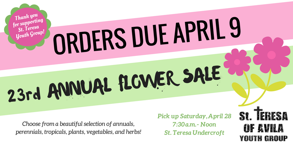 Copy of 23rd ANNUAL FLOWER SALE-2